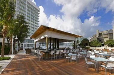 Hilton Fort Lauderdale Marina waterfront bar grill