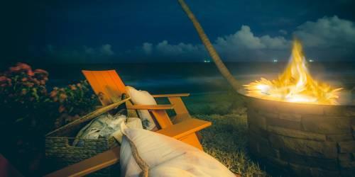 Pelican Grand Pure Spa Resort bonfire