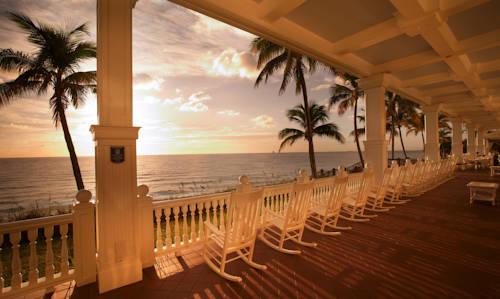 Pelican Grand Pure Spa Resort porch