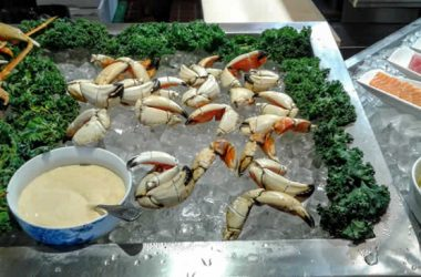 Nabu all you can eat crab claws and sushi Fort Lauderdale