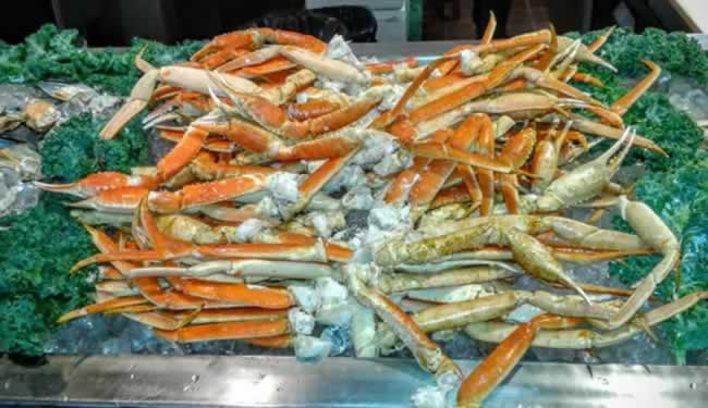 Nabu all you can eat crab legs in Fort Lauderdale
